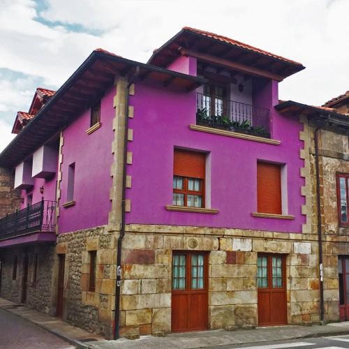Exterior Posada Arrabal Arenas Cantabria